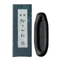 画像1: 呉竹 油煙 絵手紙墨・絵てがみ墨 0.8丁型