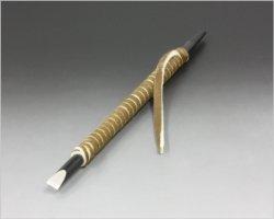 画像1: 篆刻刀丸型6mm