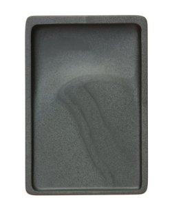 画像1: 歙州硯 魚子紋 長方型 6吋